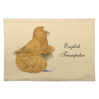Trumpeter Pigeon Deroy Placemat