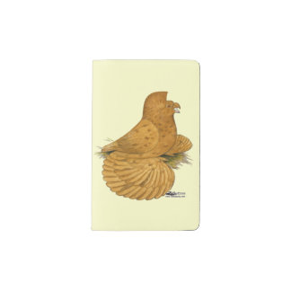 Trumpeter Pigeon Deroy Pocket Moleskine Notebook
