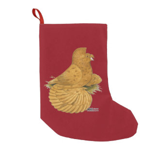 Trumpeter Pigeon Deroy Small Christmas Stocking
