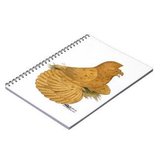 Trumpeter Pigeon Deroy Spiral Note Book