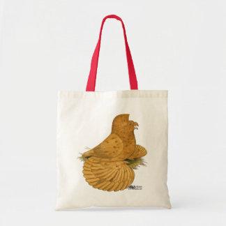 Trumpeter Pigeon Deroy Tote Bag
