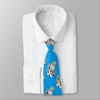 Trumpeter Pigeon Light Splash Tie