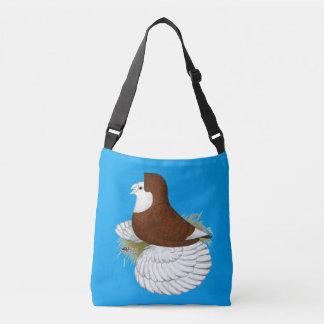 Trumpeter Pigeon Red Baldhead Crossbody Bag