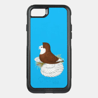 Trumpeter Pigeon Red Baldhead OtterBox Commuter iPhone 7 Case
