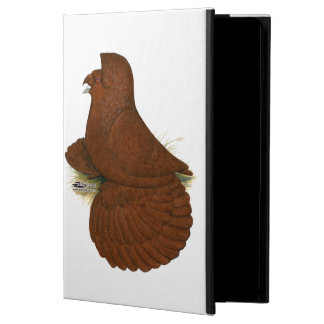 Trumpeter Pigeon Red iPad Air Cover