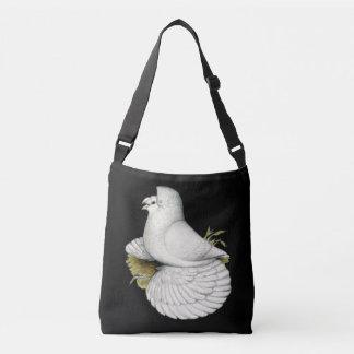 Trumpeter Pigeon White Crossbody Bag