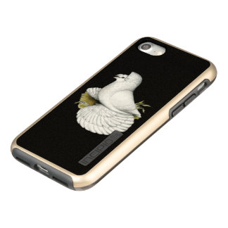 Trumpeter Pigeon White Incipio DualPro Shine iPhone 8/7 Case