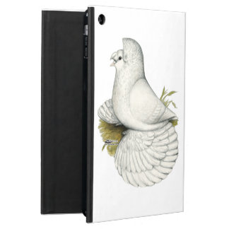 Trumpeter Pigeon White iPad Air Cover