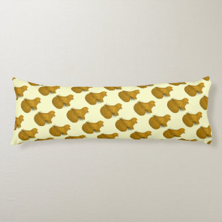Trumpeter Pigeon Yellow Self Body Pillow