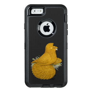 Trumpeter Pigeon Yellow Self OtterBox Defender iPhone Case