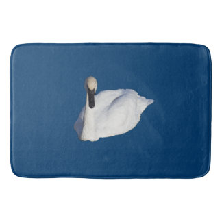 Trumpeter Swan Bathroom Mat