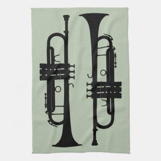 Trumpets Kitchen Towel