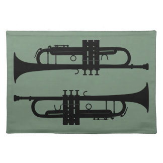 Trumpets Placemat