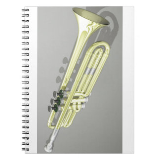 Trumpets Spiral Note Book