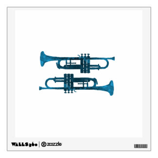 Trumpets Wall Sticker