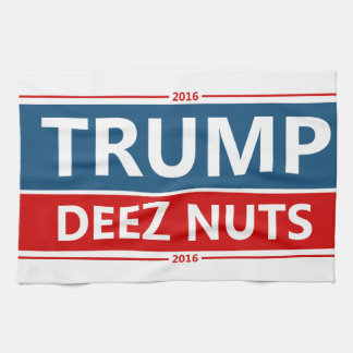 Trumpin' Deez Nuts! Kitchen Towel