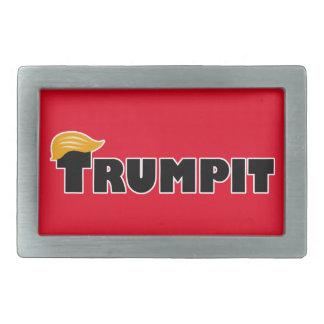 TRUMPIT RECTANGULAR BELT BUCKLE