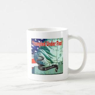 Trumpled Under Foot Coffee Mug