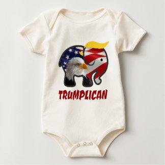 Trumplican-4 Baby Bodysuit