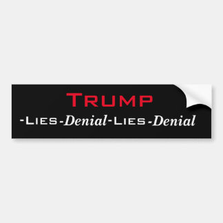 Trump's Cycle Bumper Sticker