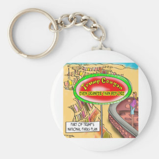 Trump's Grand Canyon Keychain