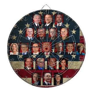 Trump's White House Cabinet Dartboard