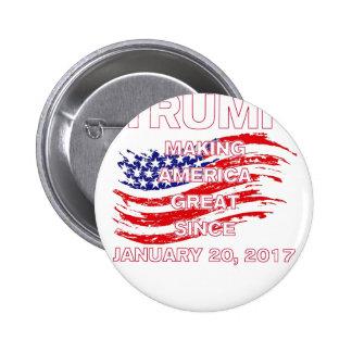 trumpSINCEflag 2 Inch Round Button