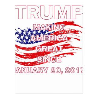 trumpSINCEflag Postcard