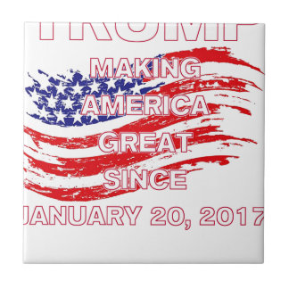 trumpSINCEflag Tile