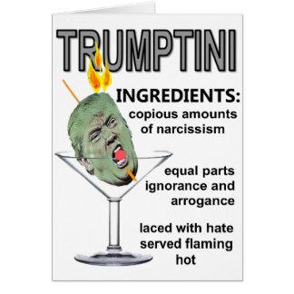 Trumptini Card