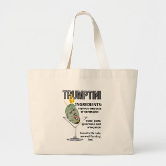 Trumptini Large Tote Bag