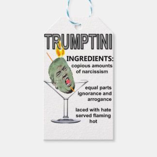 Trumptini Pack Of Gift Tags