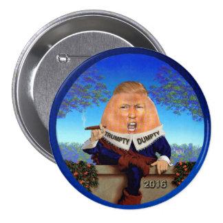 Trumpty Dumpty 3 Inch Round Button