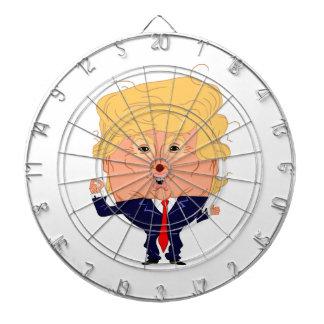 Trumpty Dumpty On Target to Greatness Dartboard With Darts