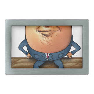 Trumpty Dumpty Rectangular Belt Buckle