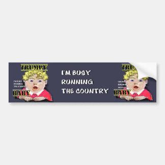 Trumpy Baby Bumper Sticker