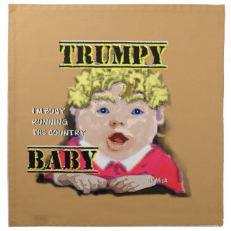 Trumpy Baby Cloth Napkins set of 4