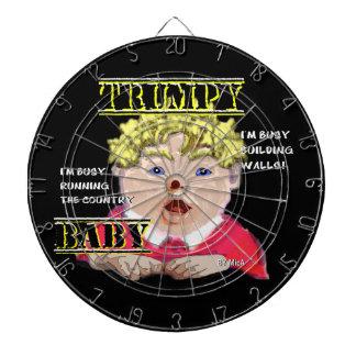Trumpy Baby Dartboard