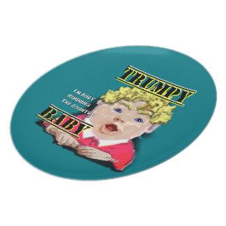 Trumpy Baby Plate