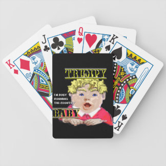 Trumpy Baby Standard Index Playing Cards