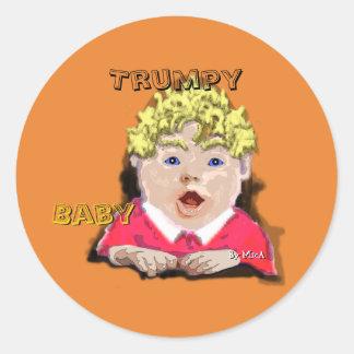 Trumpy Baby Sticker