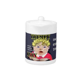 Trumpy Baby Teapot