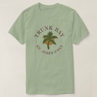 Trunk Bay shirt US Virgin Islands