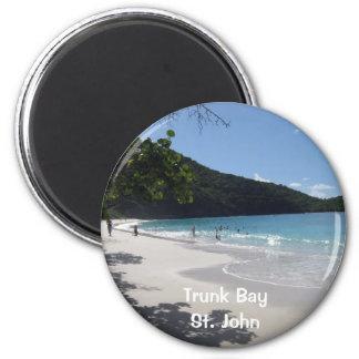 Trunk Bay, St. John Magnet