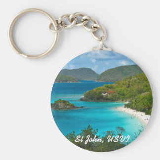 Trunk Bay, St John USVI Key Chains
