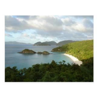 Trunk Bay, St John, USVI Postcard