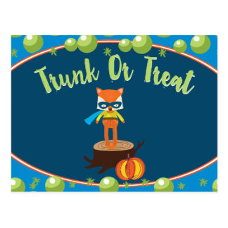 Trunk or Treat Community Event Card