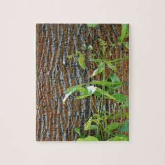 Trunk with Foliage Jigsaw Puzzle