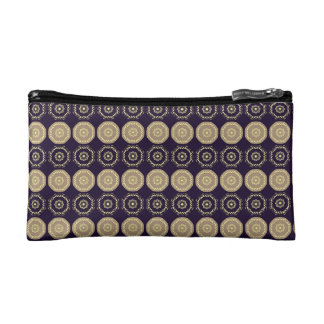 Trusses of make-up small size Dark Violet Makeup Bag
