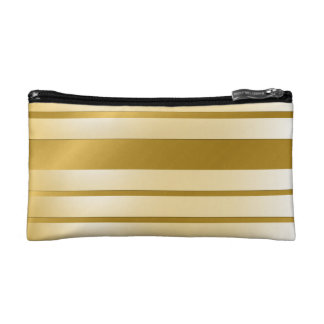 Trusses of make-up small size GOLD Lignes Cosmetics Bags